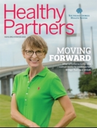 Article in Healthy Partners magazine cover button Winter 2018 issue